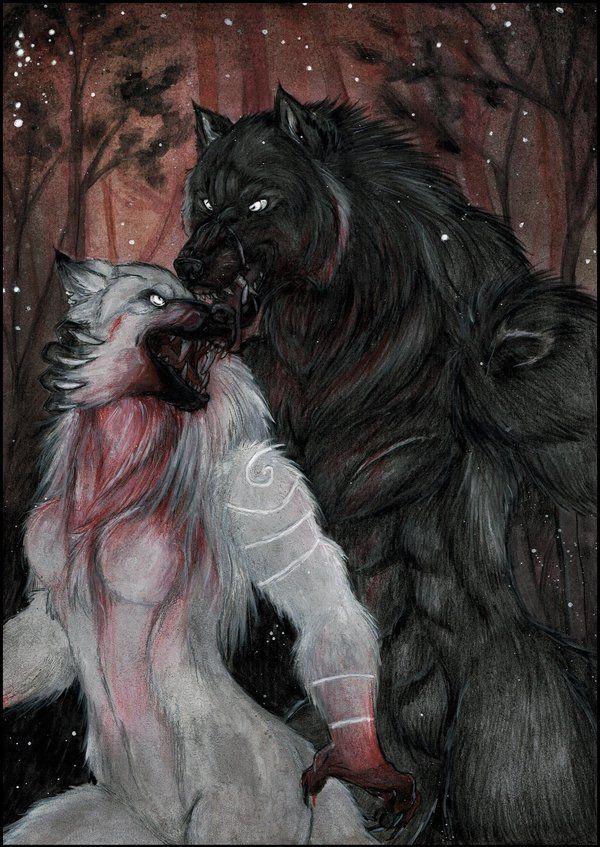 Fursuit werwolf videos von bösen snack foto 2