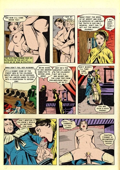 Porno vintage comics porno