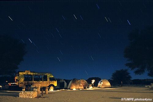 Eine nacht in afrika