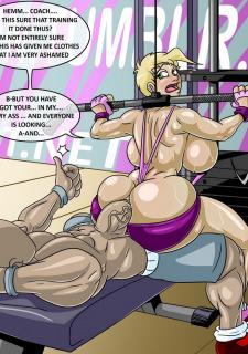 Big booty comics porno