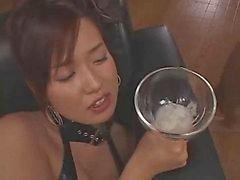 Japanisches bukkake und gokkun dame tmb foto 1