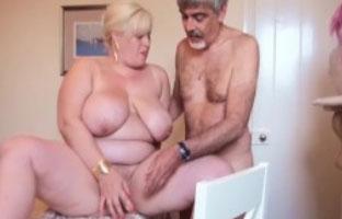 Alte fette oma fickt porno