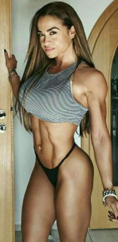 Als mulheres mais fortes e musculosas