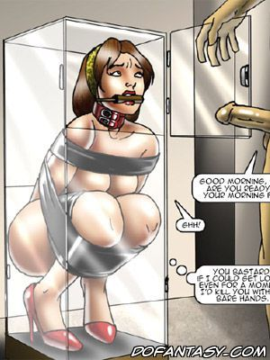 Bdsm fetisch american slave cartoon foto 1