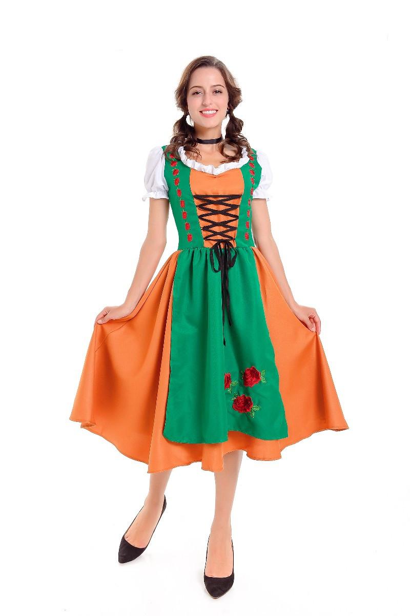 Erwachsenen oktoberfest mädchen kostüm kostüm ball foto 2