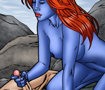 Mystique leandro porno comics foto 1