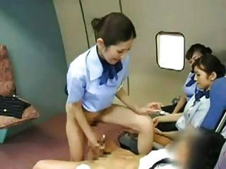 Stewardess amateur flugzeug und meilen porno